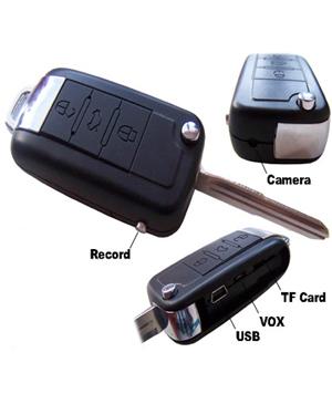 Mercedes Benz Keychain Usb Audio Recorder
